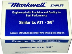 "T-50-3/8"" Fine Wire Staples"