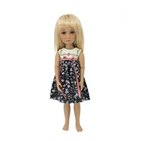 Outfit - Boneka Blue Floral Dress