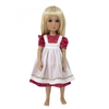 Outfit - Boneka Dress With Embroidered Apron