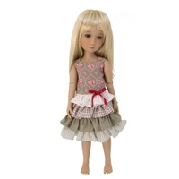Outfit - Boneka Dress With Four Layered Ruffled Skirt