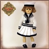 EC0074A Bleuette Sailor Outfit  With Shoes