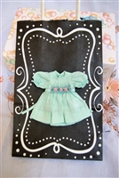 Tiny Riley & Friends - Dress 1024-15-GREEN