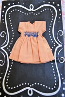 Tiny Riley & Friends - Dress 1024-15-PEACH