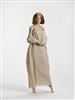 Pre-Order Deposit: Outfit - Cable Dress with Wrap Sweater
