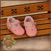 Pink Real Leather Shoes HH0024A
