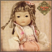 Kim (Metal) JA0006A - Five Element Doll