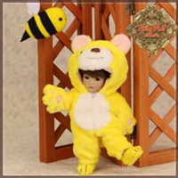 Outfit - Yu Ping Yellow Bear Costume HC0046A
