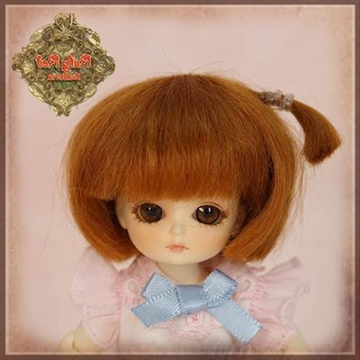 Ruby Red Galleria Honee-B - Red Mohair Wig CD0016A