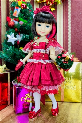 Bella - Holiday Doll