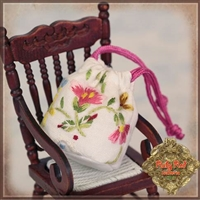 Ruby Red Galleria - White Embroidered Bag HZ0026A