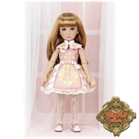 Ruby Red Galleria Girls Of The Orient - Pink & White Outfit KC0001A