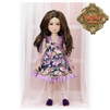 Ruby Red Galleria Girls Of The Orient - Purple Outfit KC0002A