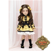 Ruby Red Galleria Girls Of The Orient - Gold & Black Outfit KC0003A