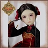 Ruby Red Galleria Girls Of The Orient - Red Black Outfit KC0010A