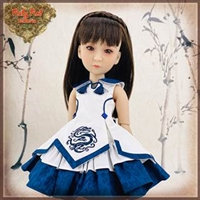 Pre-Order: Ruby Red Galleria Girls Of The Orient - Blue White Outfit KC0011A