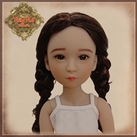 Wig - Girls Of The Orient KD0008A Long With Braids