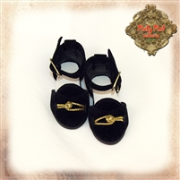 Shoes - Girls Of The Orient KH0001A Black & Gold
