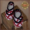 Shoes - Ten Ping HH0060A Red With White Printed Flowers