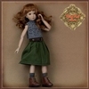 "Ruby Red Galleria 12"" In Motion Girl - Outfit WC0068A"