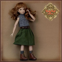 "Pre-Order: Ruby Red Galleria 12"" In Motion Girl - Outfit WC0068A"