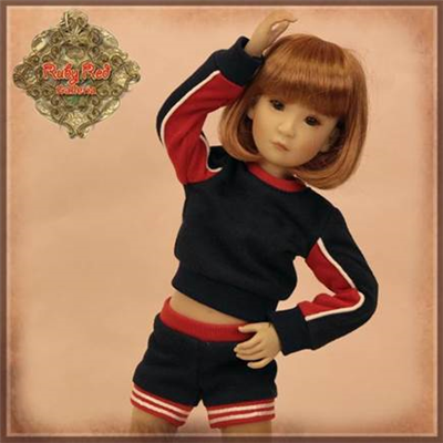 "WC0076A  12"" InMotion Girl Cloth Set"