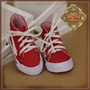 "WH0075B 12"" In Motion Red Sneakers"