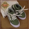 "WH0075B 12"" In Motion Green Sneakers"