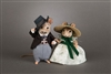 Rhett Butler and Scarlett O'Hara Mice Set