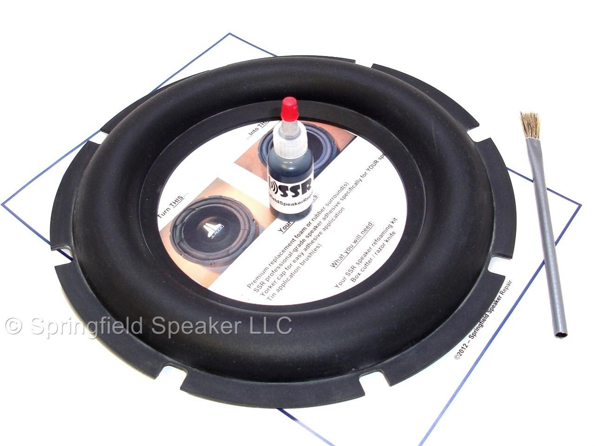 10 Inch Heavy Duty Rubber Subwoofer Surround Kit Hifonics Memphis Wiring Kits For Subs Alternative Views