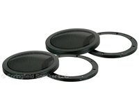2 Pack of 8 Inch Heavy-Duty Subwoofer Speaker Cover Grills - Car, Pro or Home Audio