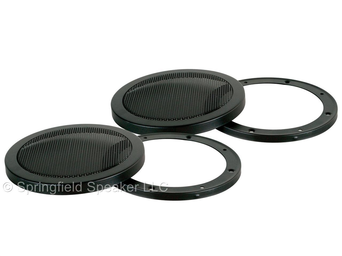2 Pack Of 8 Inch Heavy Duty Subwoofer Speaker Cover Grills