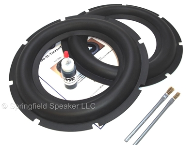 12 Inch Heavy Duty Rubber Subwoofer Surround Kit