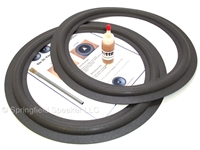 15 inch Realistic Mach II Speaker Foam Surround Repair Kit