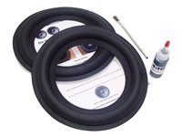 "2 Wide Butyl Rubber 10"" Speaker Surround Repair Kit"