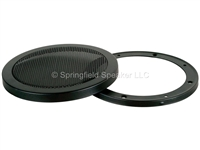 5-1/4 Inch Heavy-Duty Subwoofer Speaker Cover Grill - Car, Pro or Home Audio