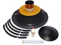 15 inch Mmats Juggernaut Drop-In Recone Kit - Dual 1 Ohm Pro Kit
