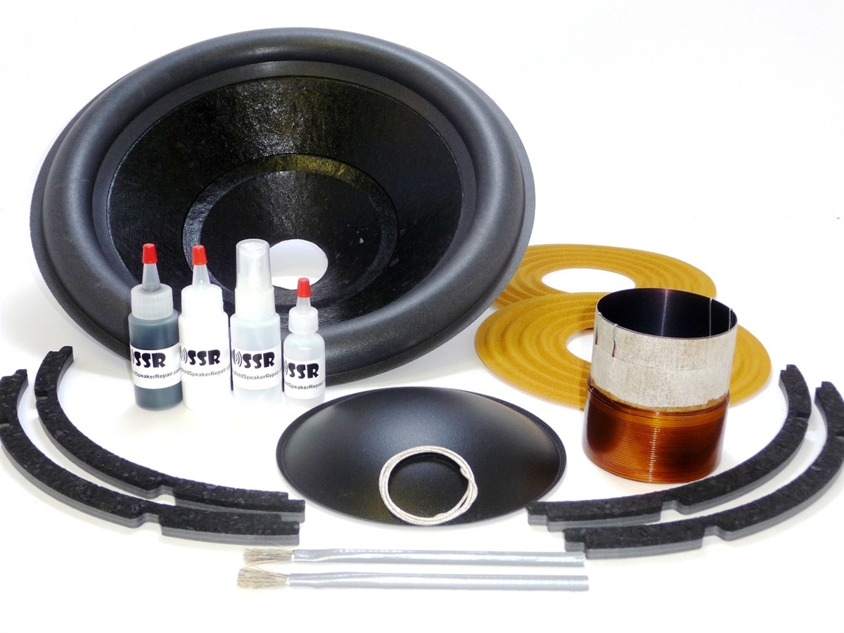 15 Inch Mmats Juggernaut Recone Kit Dual 4 Ohm Pro How To Wire Voice Coil Subs Wiring Harness Alternative Views