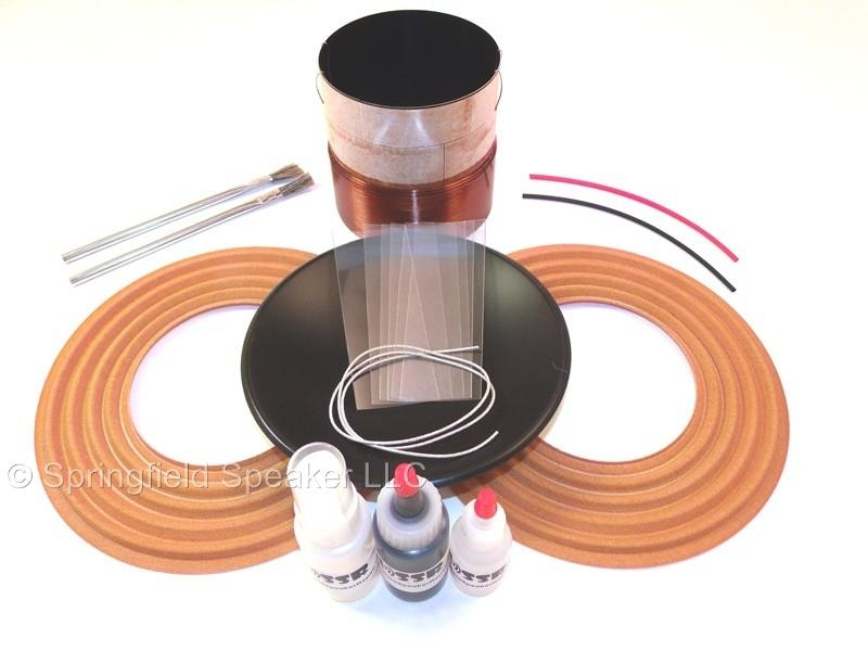 alpine type r 12 coil replacement kit  dual 2 ohm