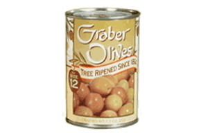 no 12 graber olives twelve tins