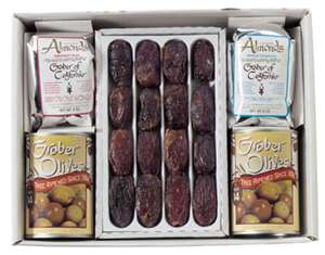 olives almonds and dates