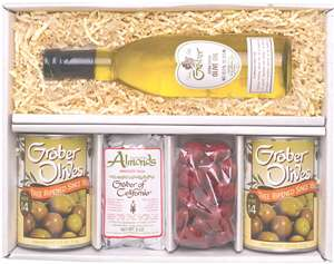 olives oil almonds and cherries