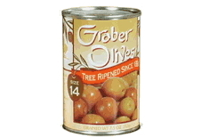 no 14 graber olives four tins