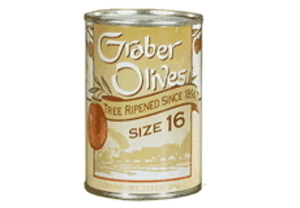 no 16 graber olives twelve tins