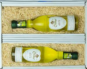 graber olive oil two bottles