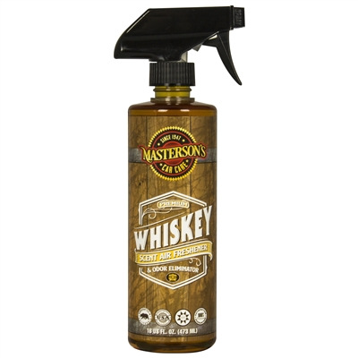 WHISKEY SCENT AIR FRESHENER & ODOR ELIMINATOR (16 oz) - MCC_121_16