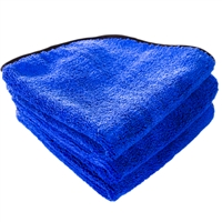 Fluffy Blue Silk Lined Microfiber 16x16 (3-Pack) - MF_108_3