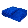 "Blue Blazing Plush Microfiber Drying Towel 36""x25"" - MF_121_1"