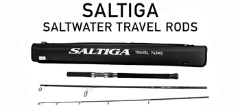 DAIWA SALTIGA TRAVEL RODS (CASTING AND SPINNING)