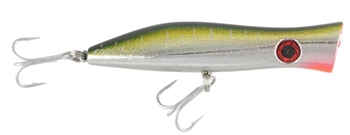 HALCO ROOSTA POPPER - YELLOWFIN (SELECT SIZE)