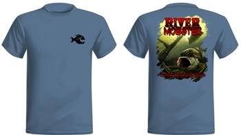 "Saltwater Mafia - ""River Mobster"" Short Sleeve (Select Size)"
